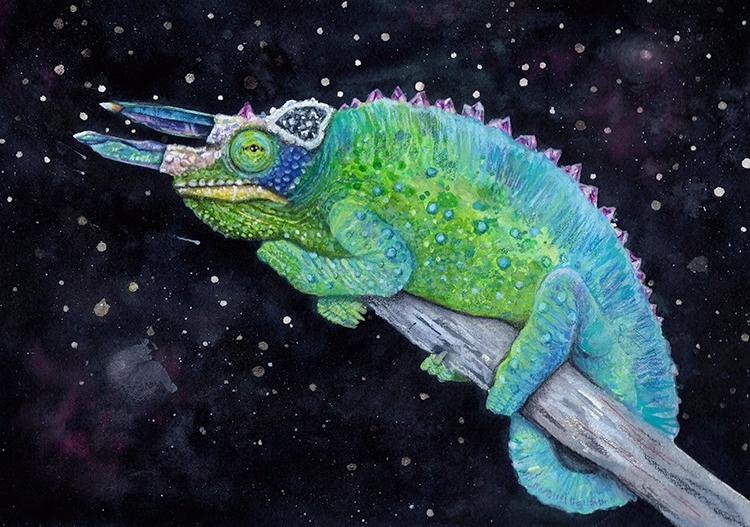 Chroma pristmatic - art, watercolor - mayhemhere   ello