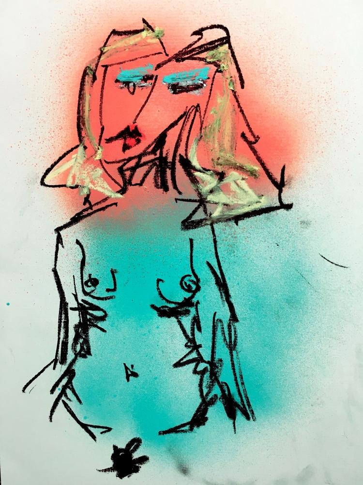 Untitled Nude - art, nude - jkalamarz   ello
