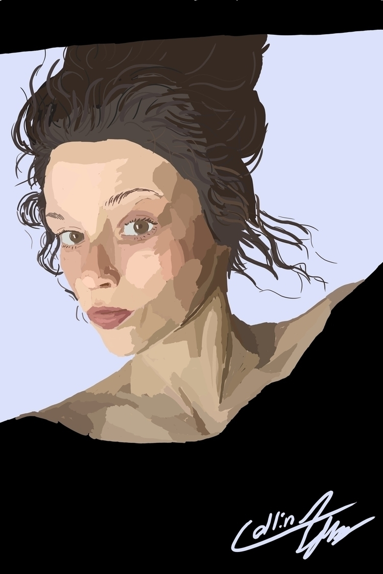 Digital portrait - art, artist, digital - sketch_study | ello