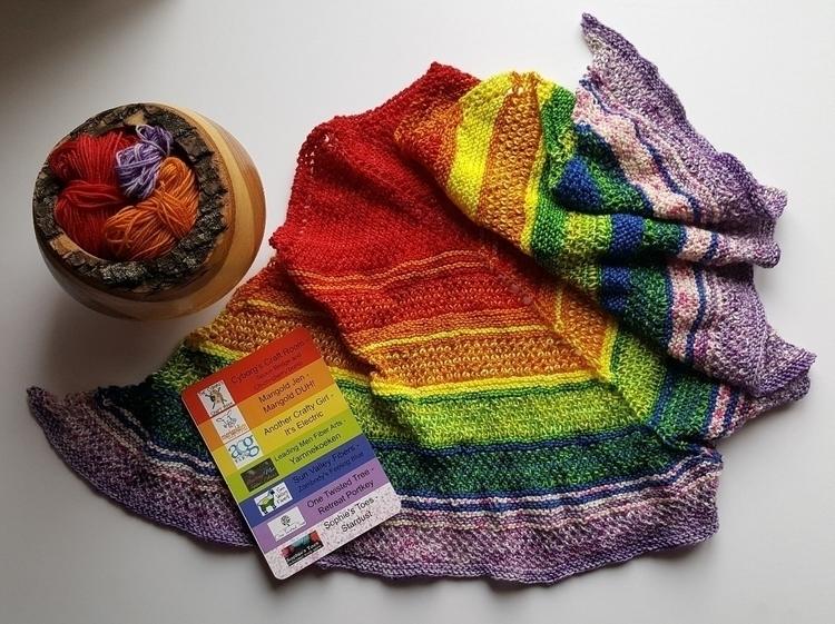knitting#knitlife#knitshawls#handcrafted#handmade - heliina | ello