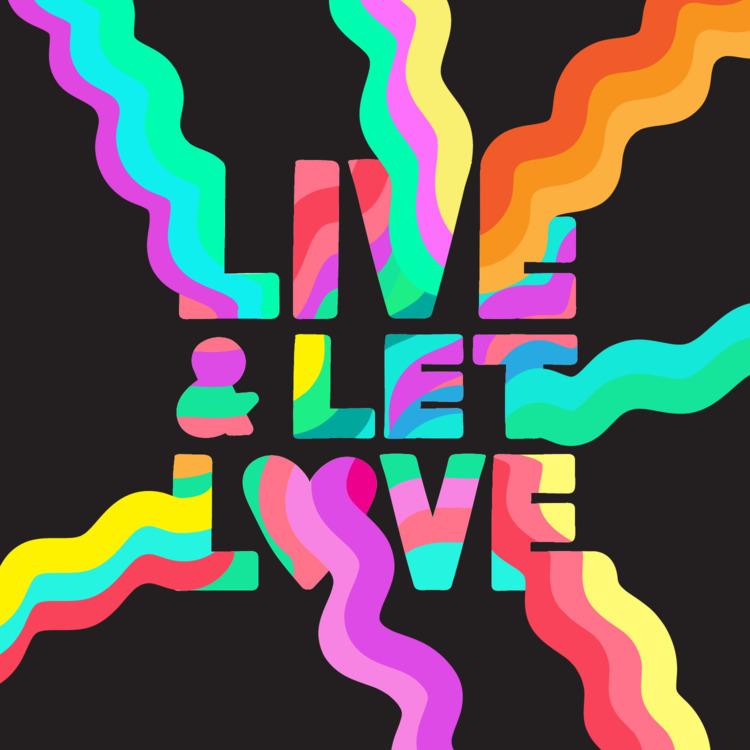Words live illustration - typography - timsingleton | ello