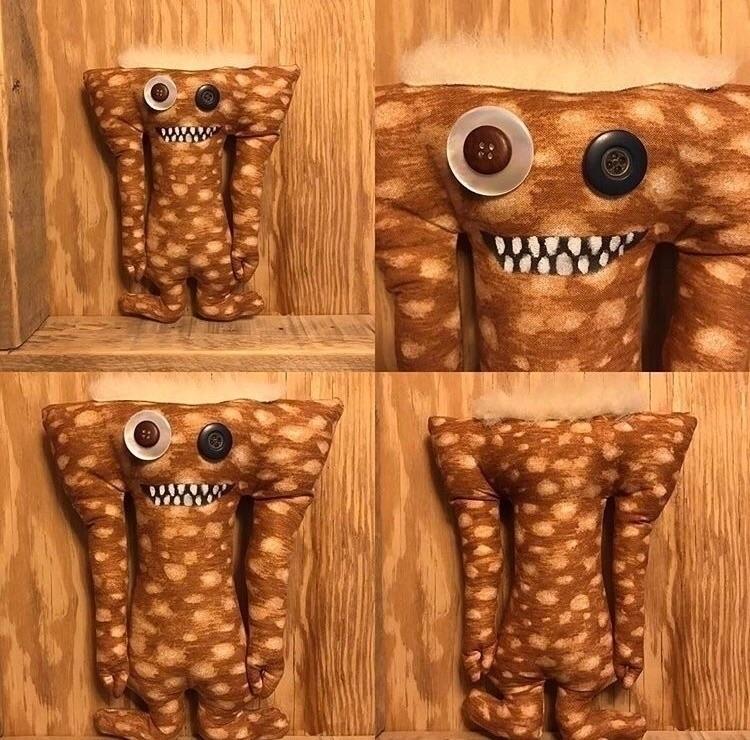Brown Spotted Tall Monster shop - tykesanimalkingdom | ello