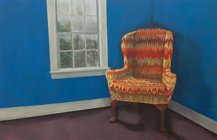 Bargello Chair oil linen 2013 S - catenelson | ello