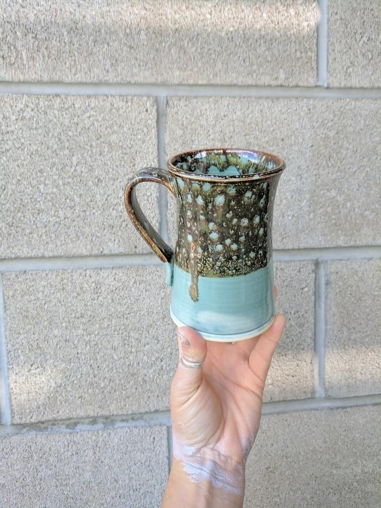 Tortoise Shell Mug Check drip - clay - hillippieclayco | ello
