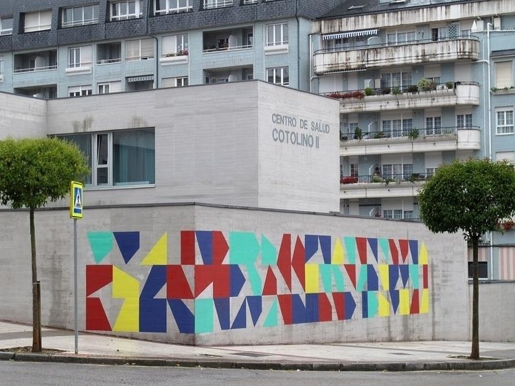 Modo generative mural painting - eltono | ello