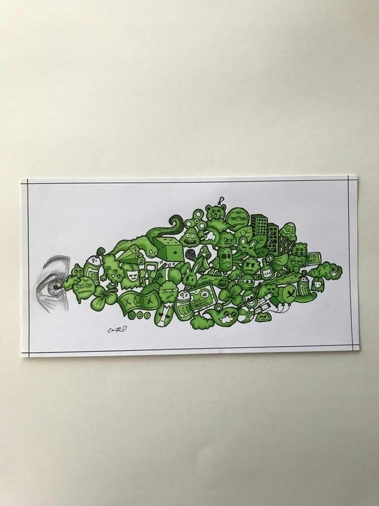 doodle art etsy shop!!! awesome - acidart47designs | ello