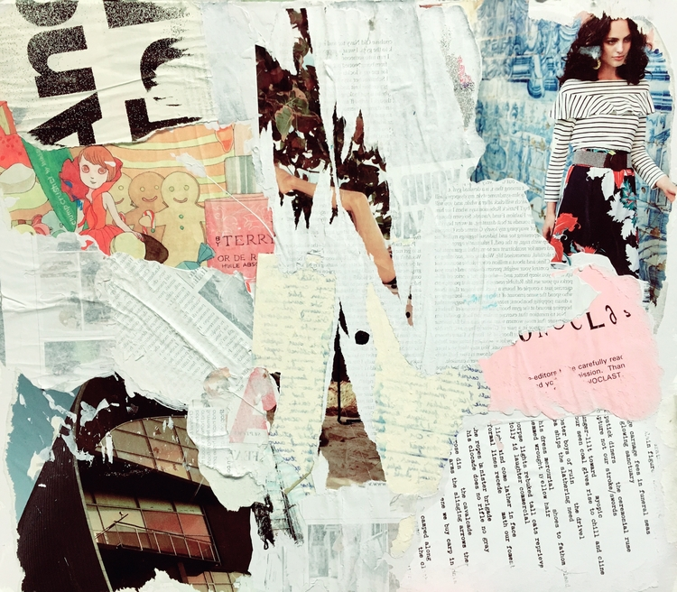 Yellow Rifle - art, collage, abstract - jkalamarz | ello
