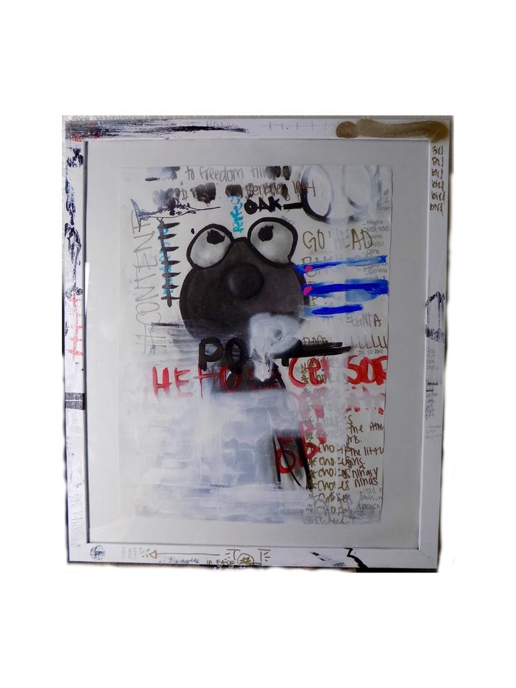 1. OFMALIA , Acrylic, ink, oil - ofmalia | ello