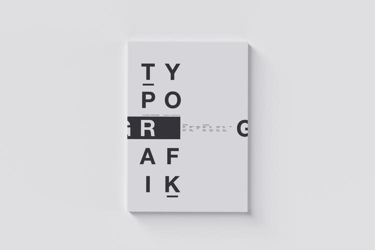 004 / Typografik Magazine Cover - mbdesign | ello