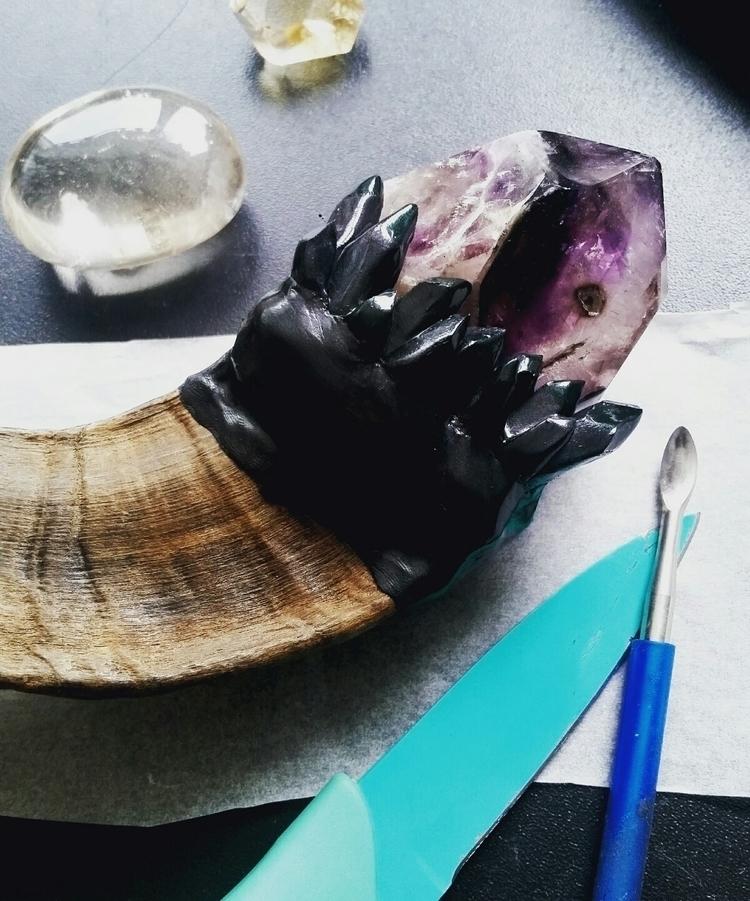 Work progress, altar tool aan h - maevesforest | ello