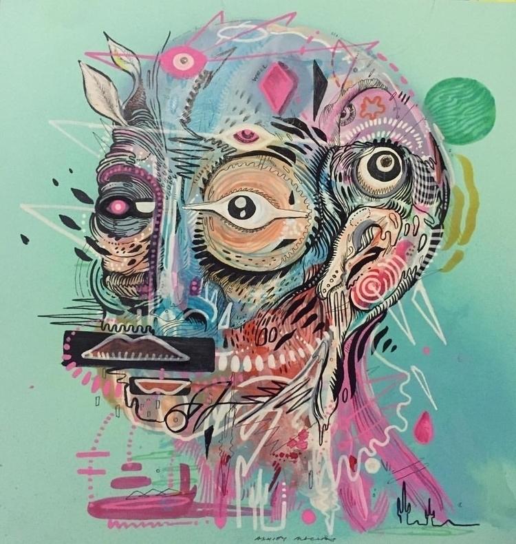 Anatomical Ashley Macias - artist - ashleymacias | ello