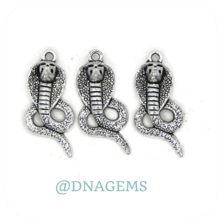 Metal snake charms#charms#metal - dnagems | ello
