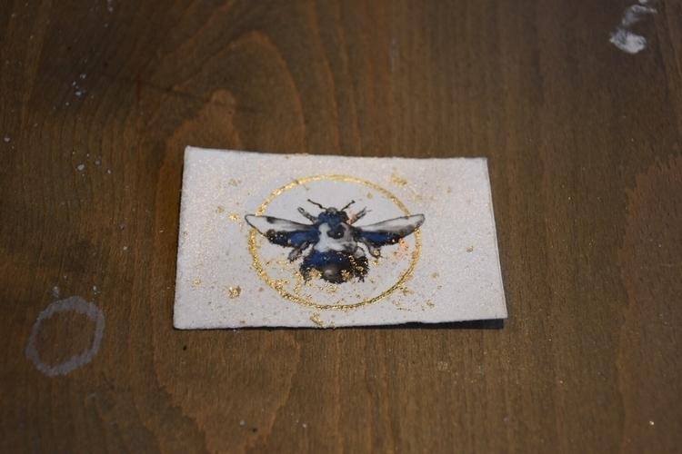 Tiny orchard bee - orchardbee, gilded - alexakarabin | ello