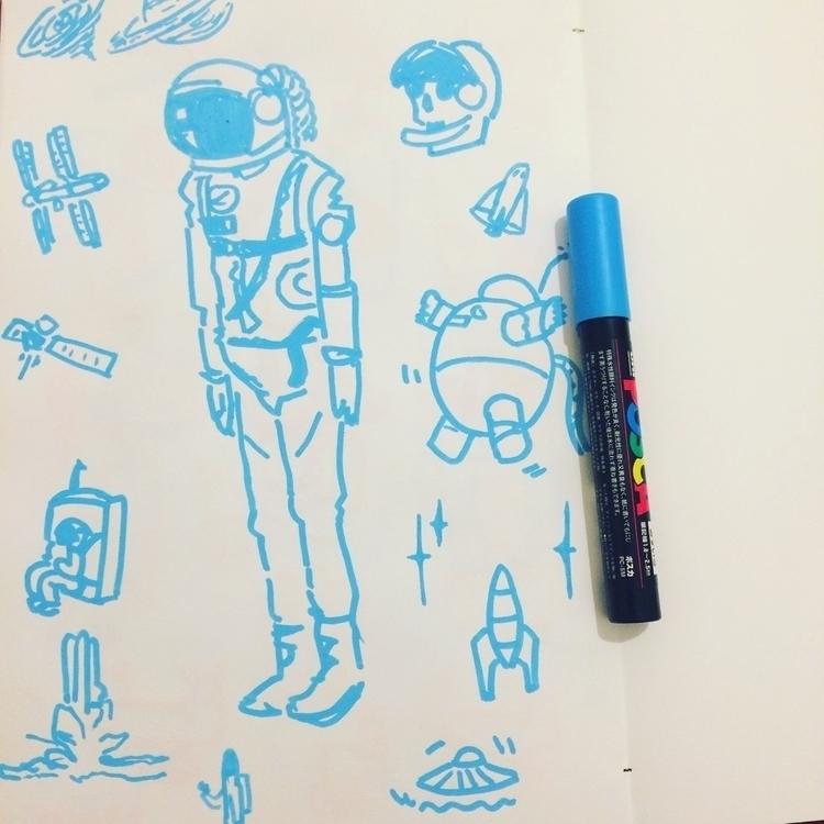 Space + doodle = spoodle - jonashoffmann | ello