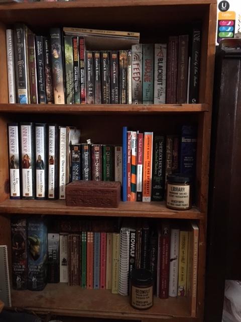 favorite bookshelf filled perma - mephit | ello