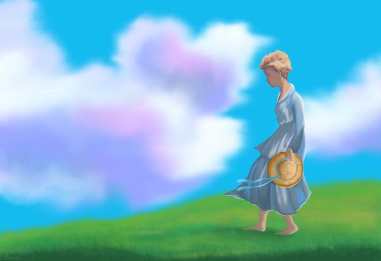 Summer Stroll Strolling quietly - littlebunnysunshine | ello