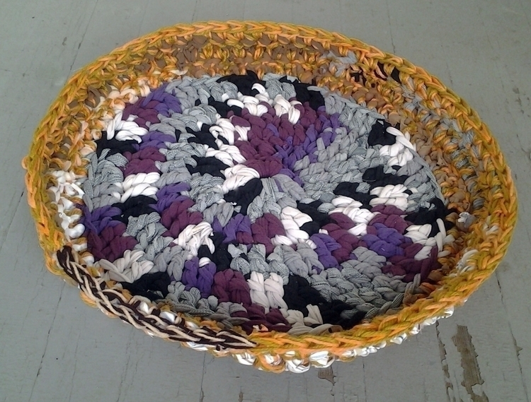 SOLD...Handmade Crochet Eco Cat - maryherrigfiberarts | ello