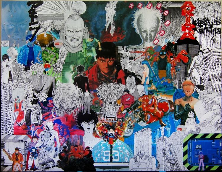 Collage Akira - fredzy | ello