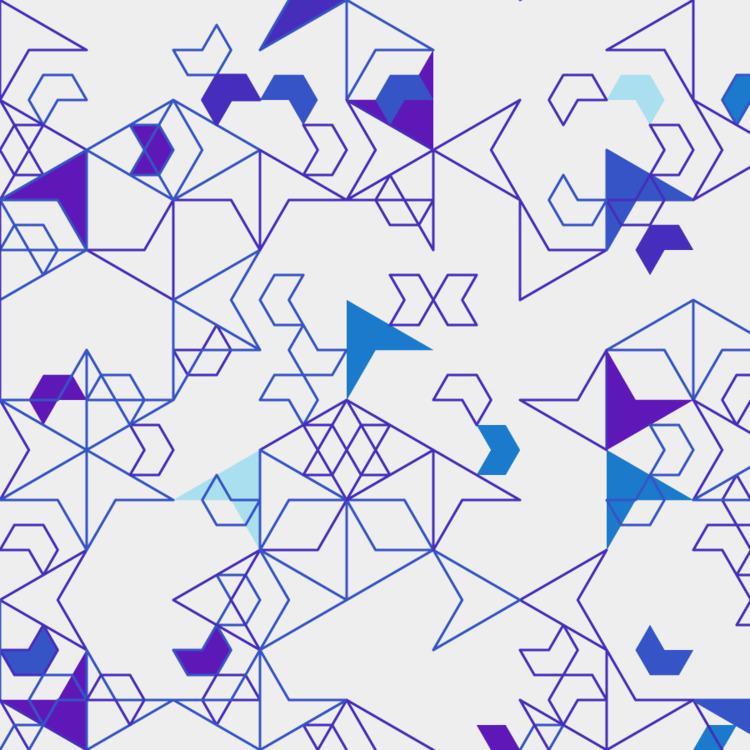 Geometric Shapes / 170608 - processing - sasj | ello