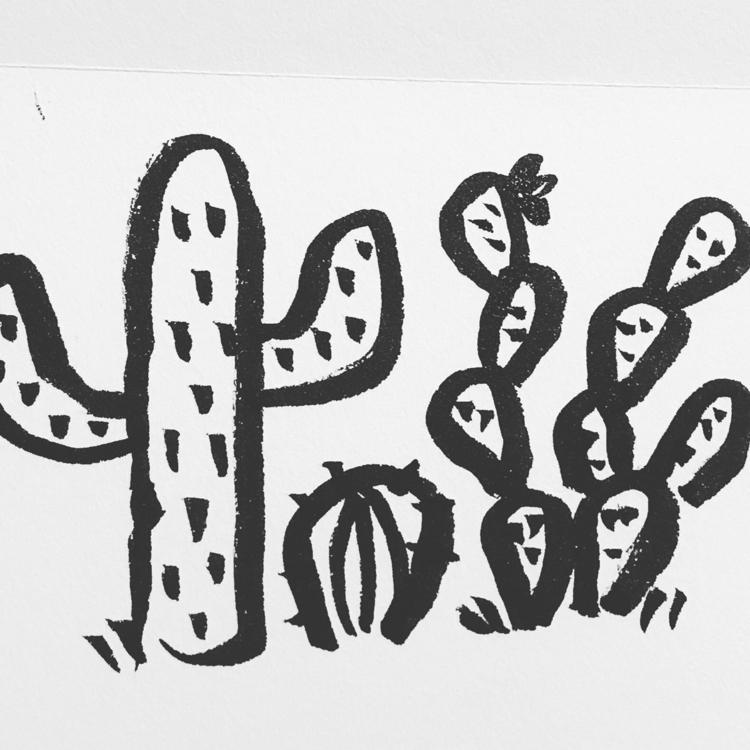 Daily Drawing Day - cactus babi - wawawawick | ello