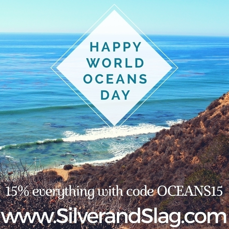 Happy World Oceans Day! ocean c - silverandslag | ello