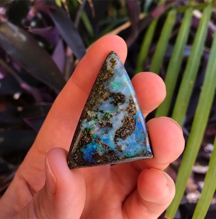 Australian Boulder opal cut - opalsbyzoe - opalsbyzoe | ello