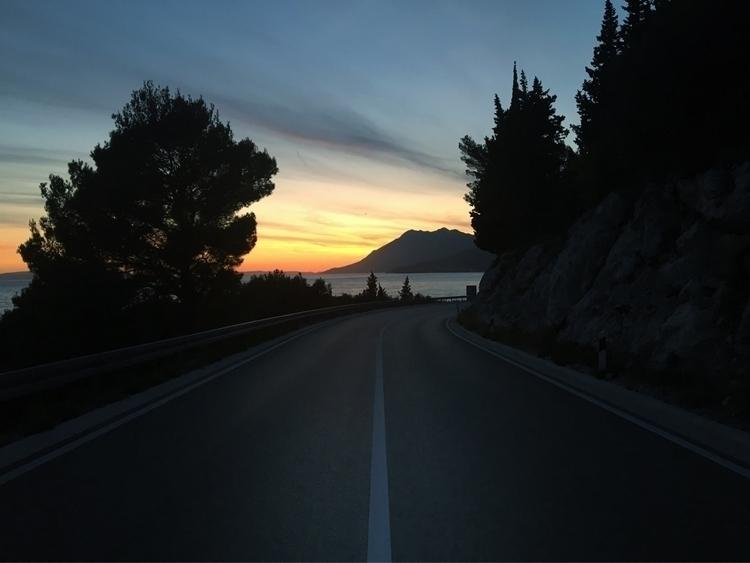 Drvenik - Sunset, AdriaticCoast - rowiro | ello