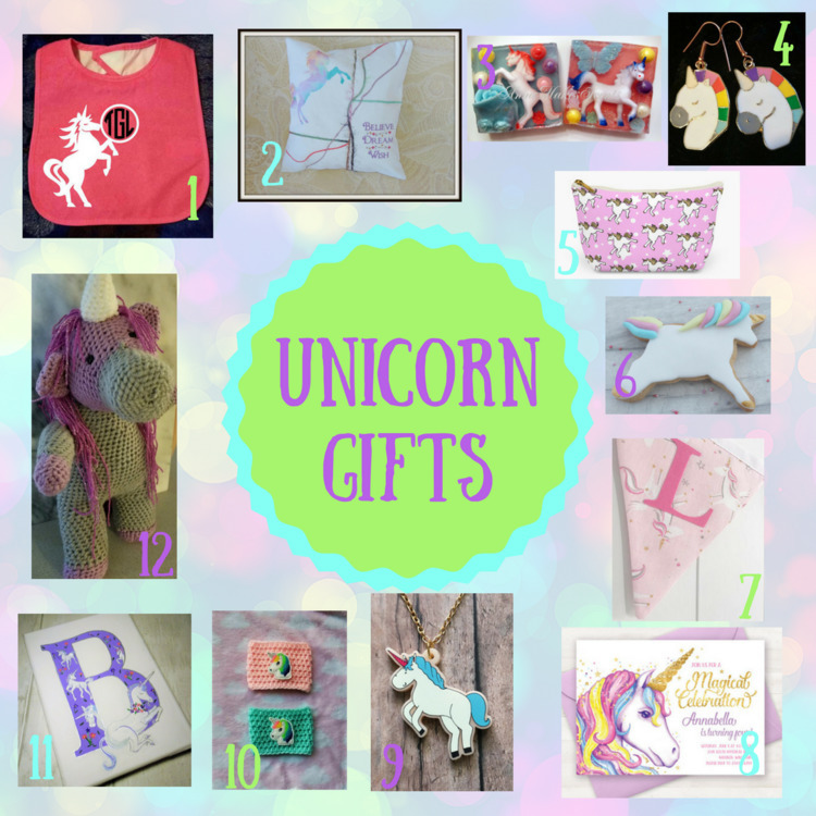 babybibs, unicorns, magical, pillows - mecraftycreations | ello