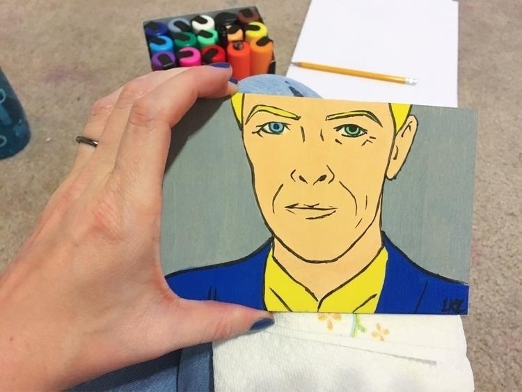 Tiny David Bowie. fact, misplac - lizkellyzook   ello