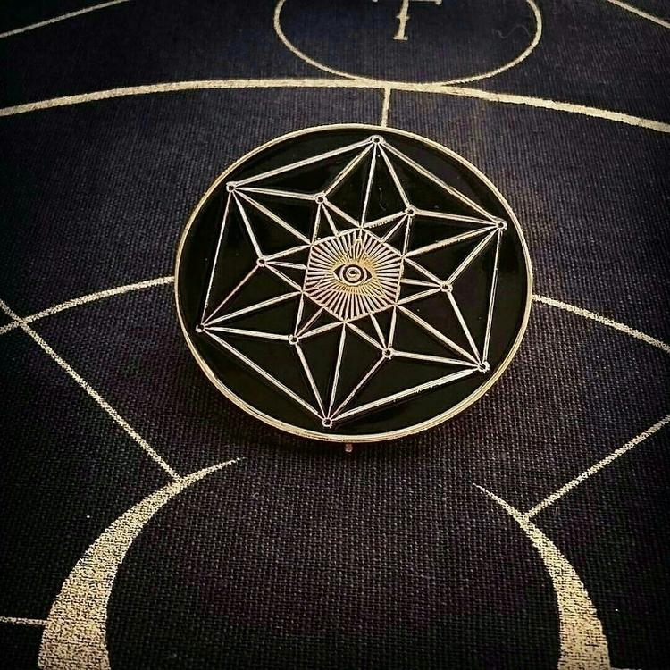 Ajna Talisman badge lookout! sh - sacredservicereiki | ello