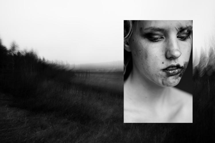 photography, selfportrait, blackandwhite - verotica | ello