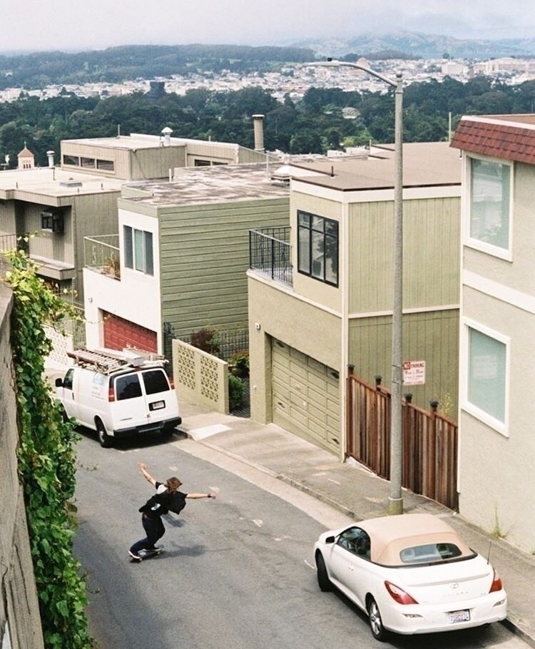Bombing hills San Francisco urb - mitchellmylius | ello