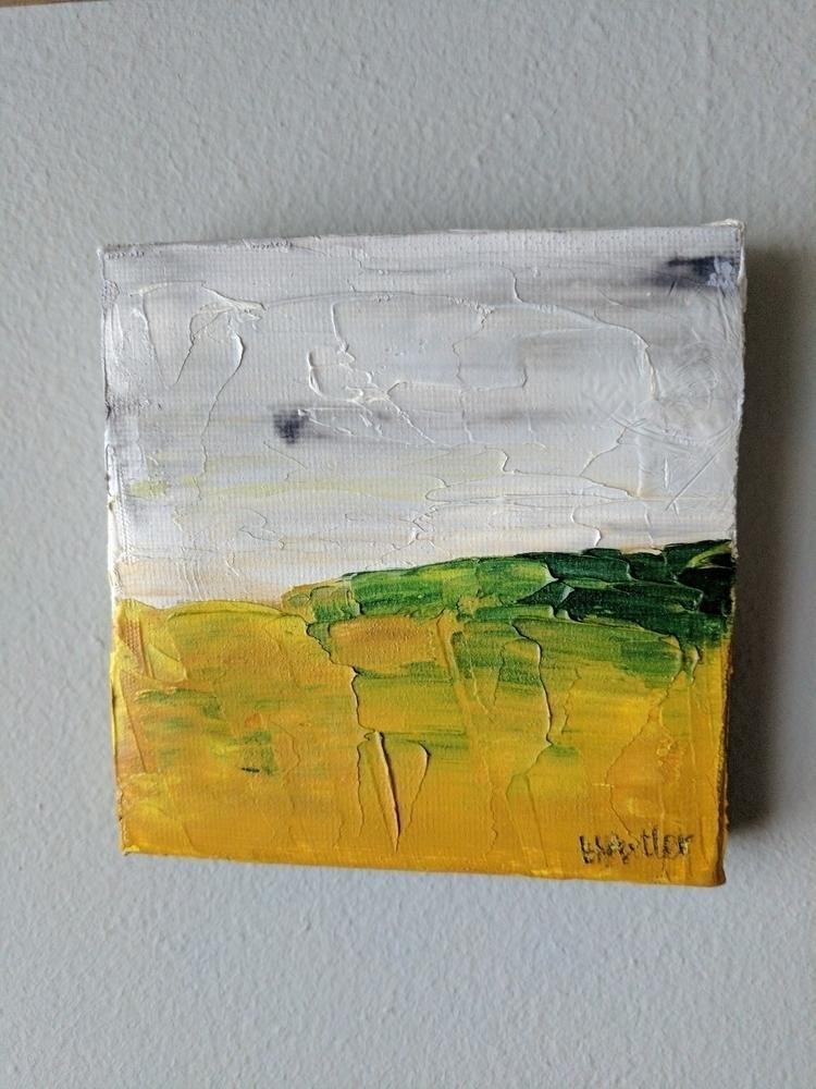 oil mini depicting rapeseed fie - harrysfuller | ello