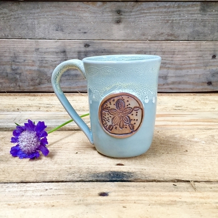 mug making beach - rebeccamartinpottery - rebeccamartinpottery | ello