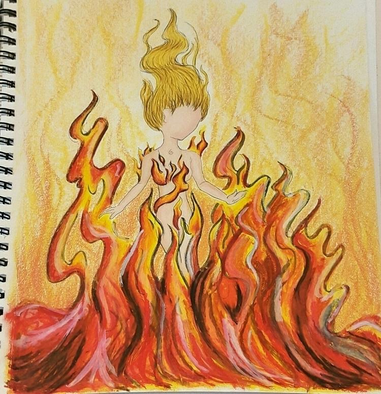 reworking elemental art. 100% h - mysticsageart | ello