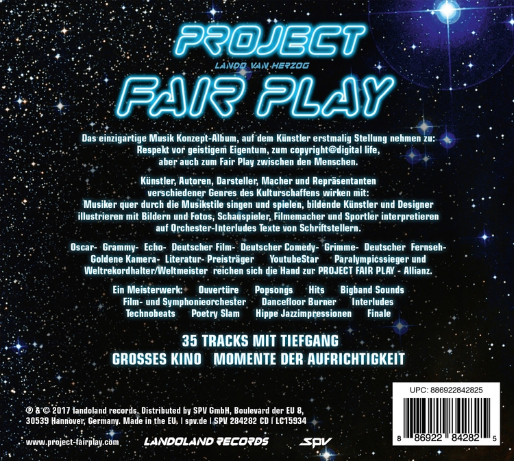 35 Tracks mit Tiefgang, GROSSES - projectfairplay | ello