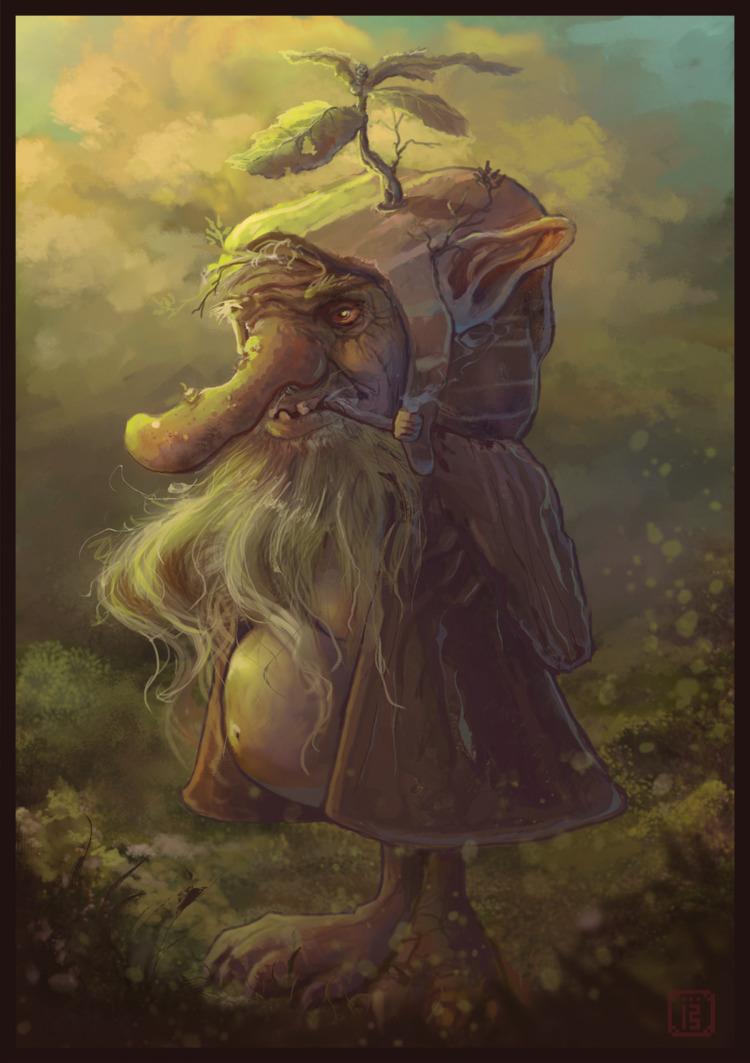 Pondering ol' Goblin year attem - malthus_wolf | ello