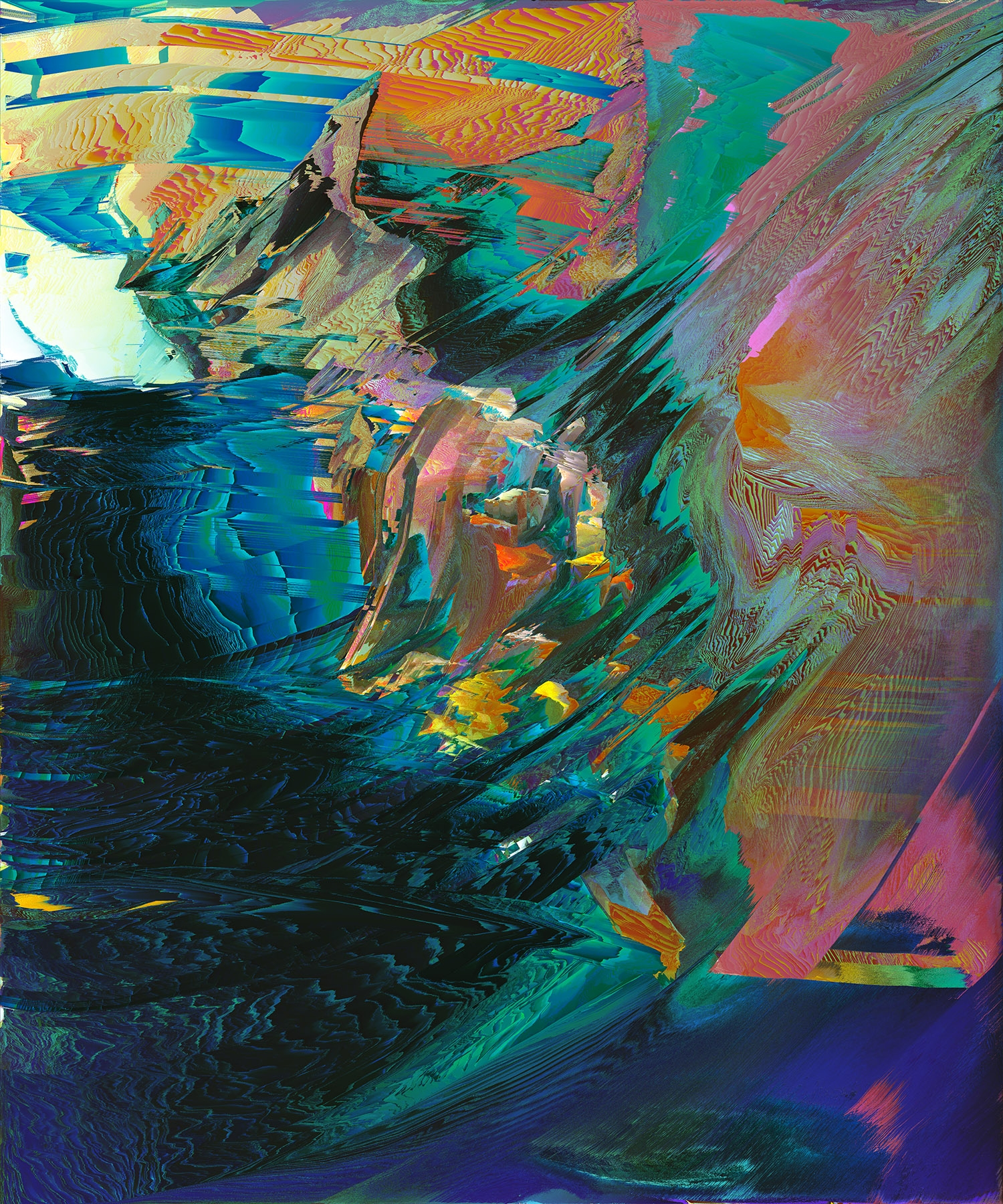 abstract, digitalart, glitch - amnonowed | ello
