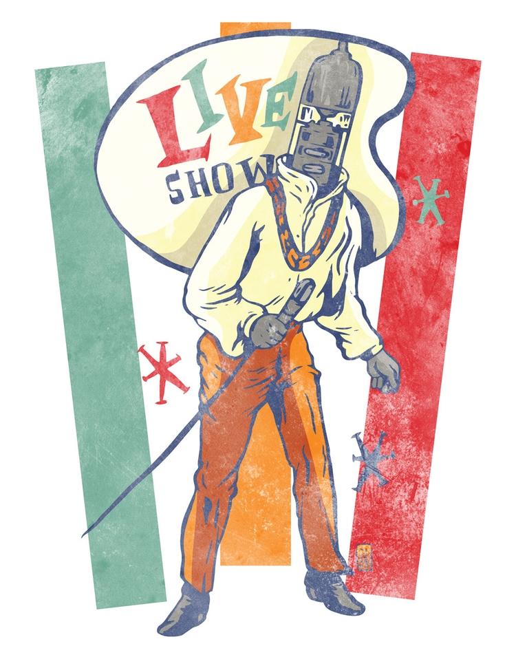 Live Show - illustration - thomcat23 | ello