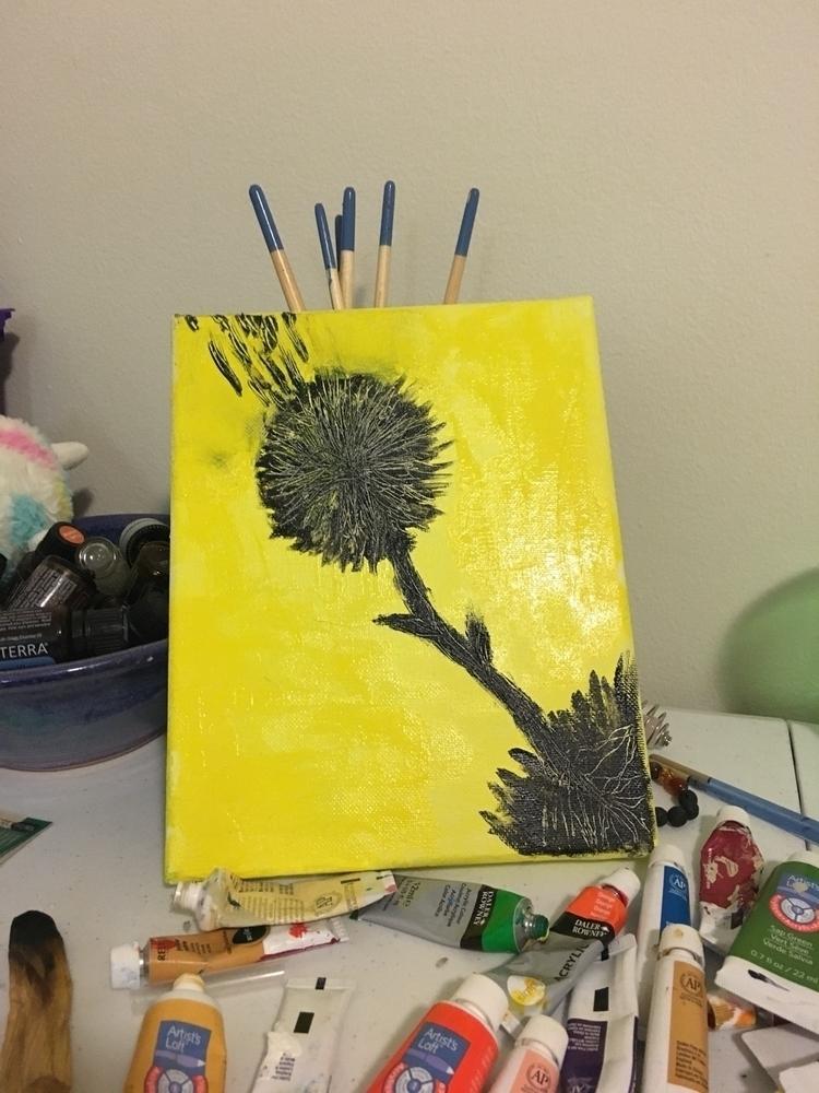 acrylic, paint, canvas - jereann | ello