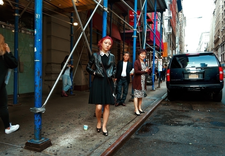 Hair Dye, Leather, Heels, Pleat - nycpointandshoot | ello