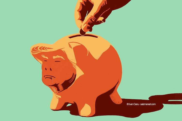 Follow money, find pig (Trump s - canuivan | ello