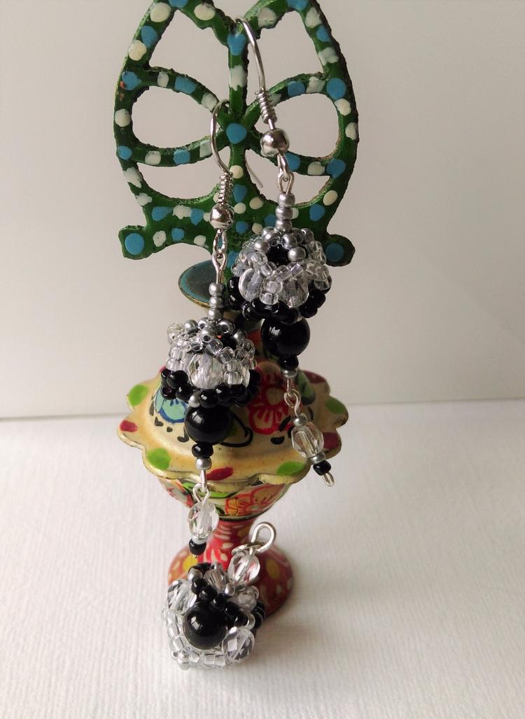 set small sphere - Handcrafted, Onyx - haleh_creates | ello