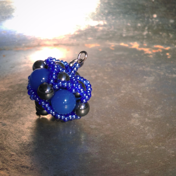 large sphere - Handcrafted, pendant - haleh_creates | ello