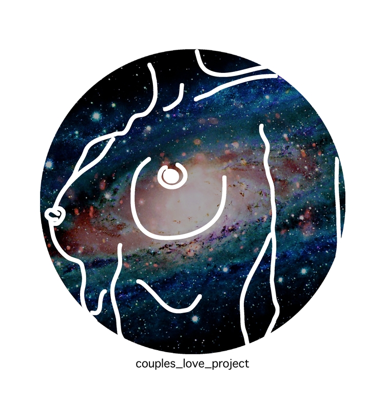 Nude Galaxy Follow Instagram - illustration - antoniadordea | ello