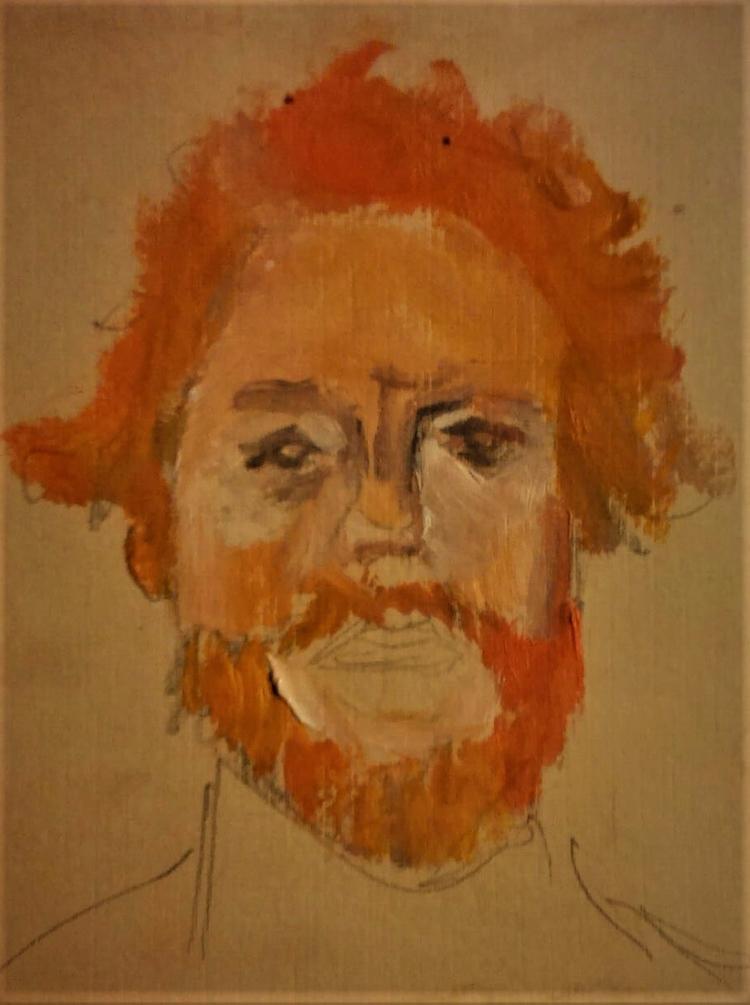 Portrait sketch ///// oil coffe - guiart | ello