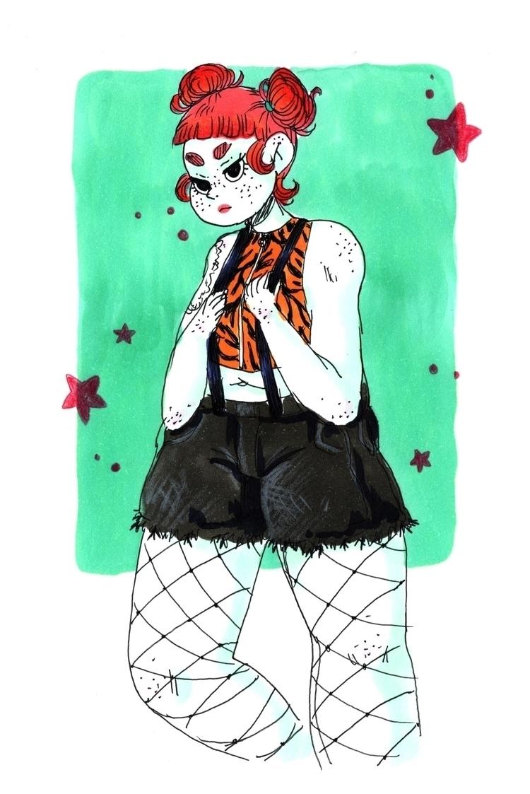 Isabel Hendrix fanart - art, curvy - skeenep | ello