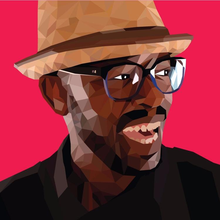 DJ - Lowpoly, illustration, drawing - leratodavid | ello