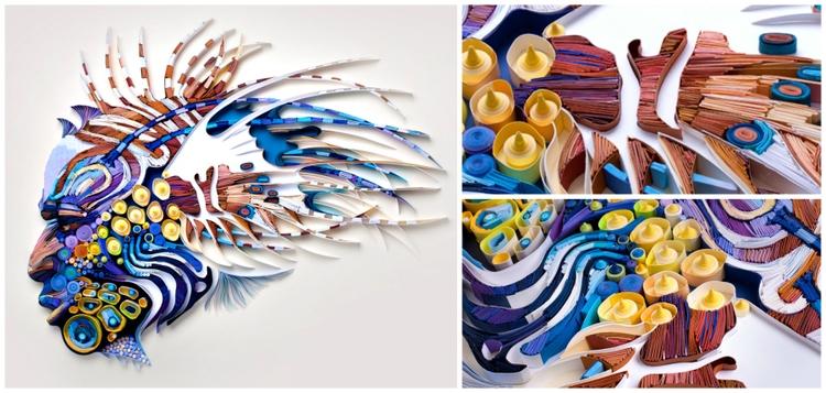 artist Yulia Brodskaya continue - decorkiki   ello