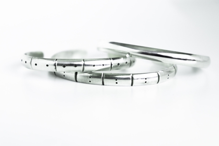 Minimal 6mm dome cuffs. Clean s - srjewelry | ello